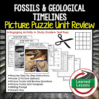 EARTH SCIENCE Test Prep, EARTH SCIENCE Test Review, EARTH SCIENCE Study Guide, Fossils and Geological Timelines