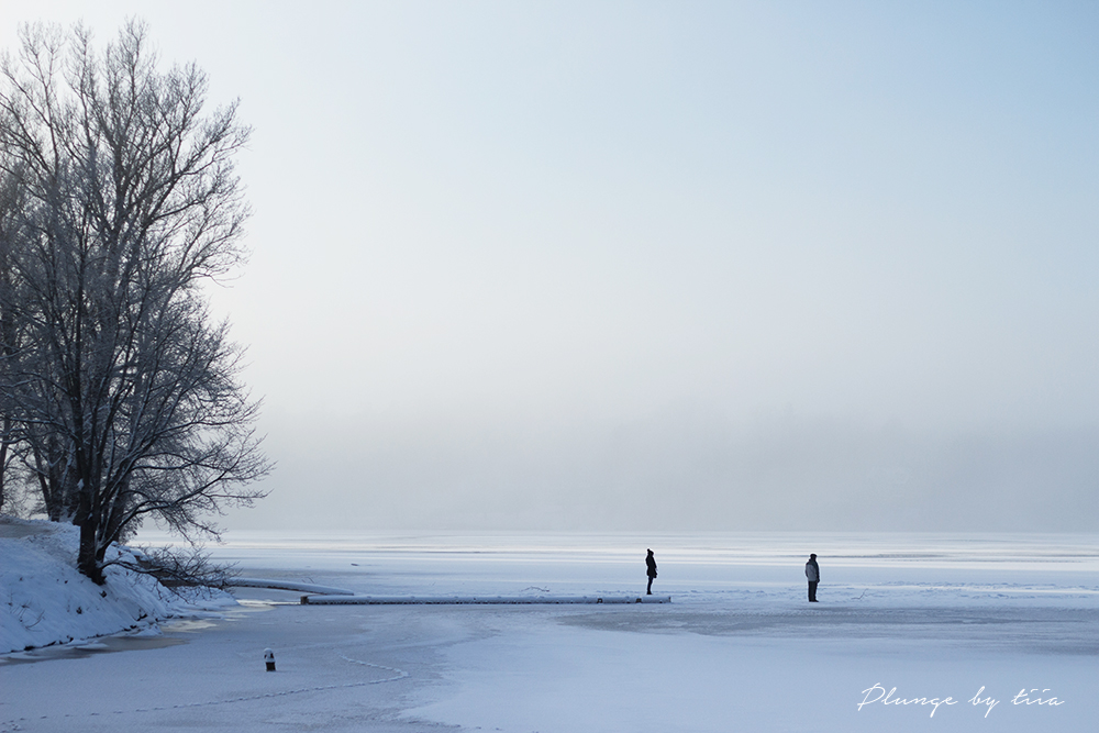 Plunge by tiia - Winter Brunnsviken