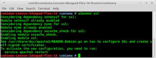 Instalasi dan konfigurasi secure web server pada Linux