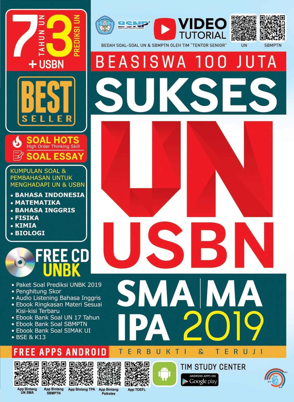 Sukses UN dan USBN SMA IPA (Terbukti dan Teruji)
