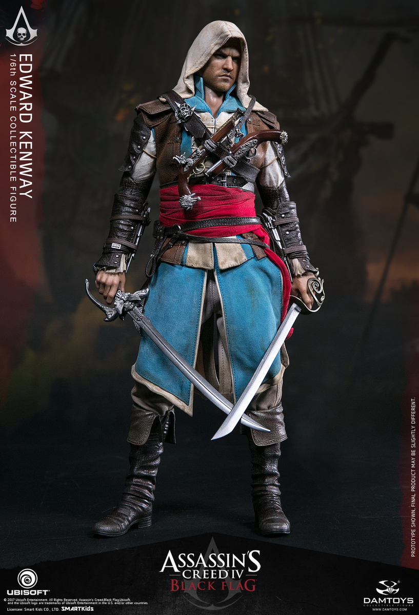 Toyhaven Dam Toys Assassin S Creed Iv Black Flag 1 6th