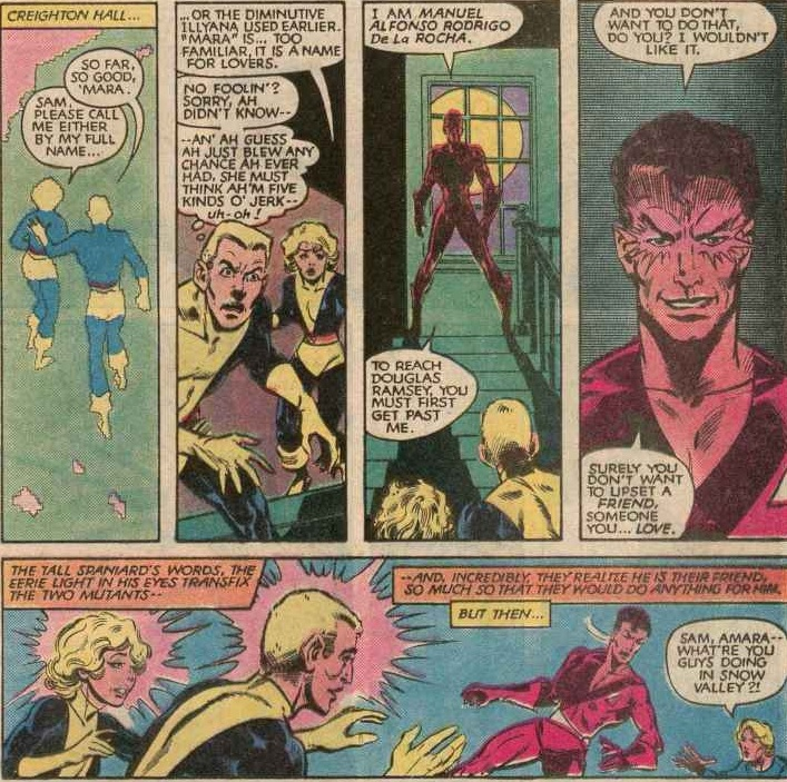 Chris Claremont: Mind Control Central: Empathically