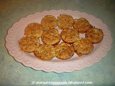 Margaret's Morsels | Baked Salmon Patties