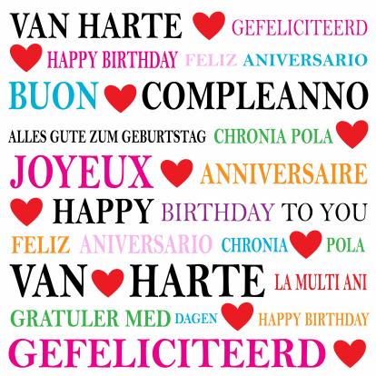 gefeliciteerd in andere talen Zeg maar Yes • Marin is jarig! gefeliciteerd in andere talen