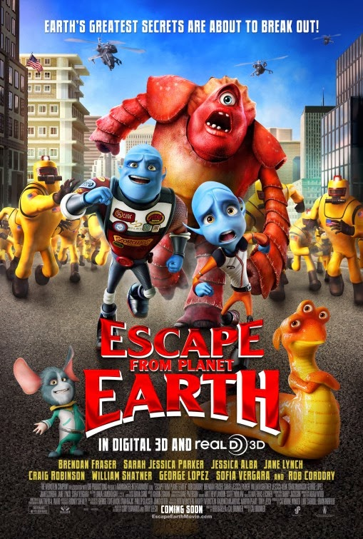 Watch Escape from Planet Earth (2013) Full Movie Free Online