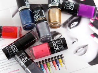 Maybelline Color Show Bright Sparks Rs. 85 – Amazon