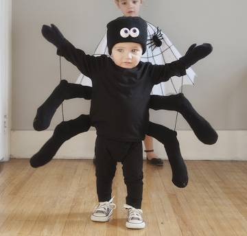 halloween para bebes disfraz araña