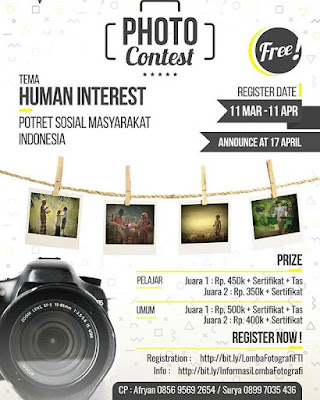 Photo Contest Human Interest Theme 2018 URINDO