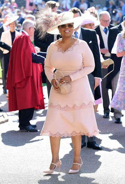 Oprah Winfrey at Prince Harry and Meghan Markle Wedding