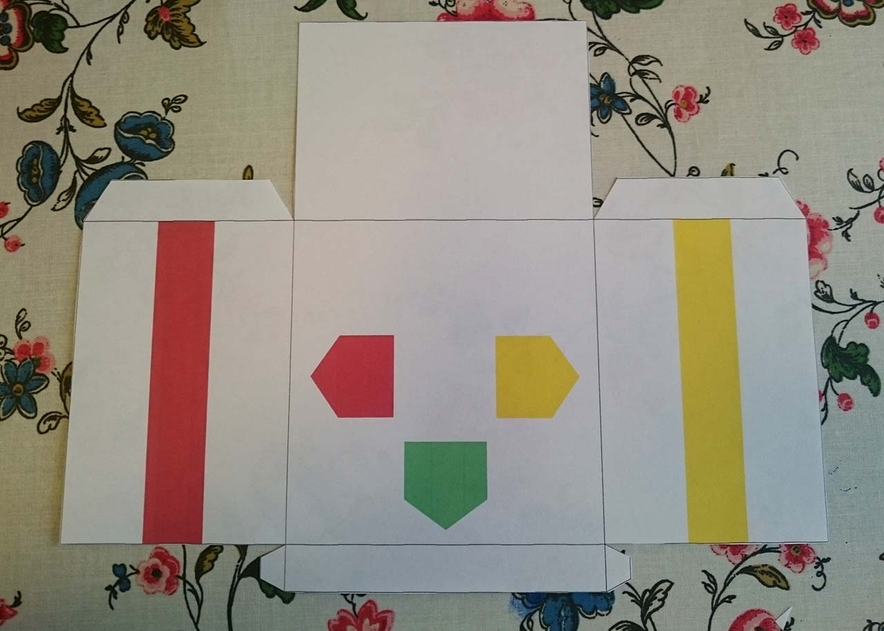 Dress Up Cubetto With Printable Paper Costumes