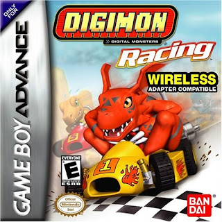 Digimon Racing cover