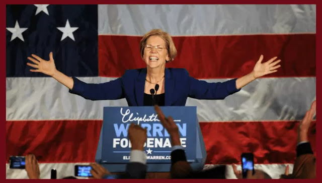 Senator-Elect Elizabeth Warren (D-MA) thanks her supporters on election night.