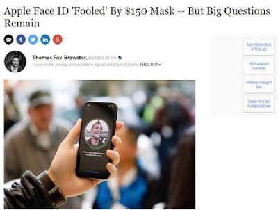 """Apple nói gì khi Bkav """"qua mặt"""" Face ID trên iPhone X?"""