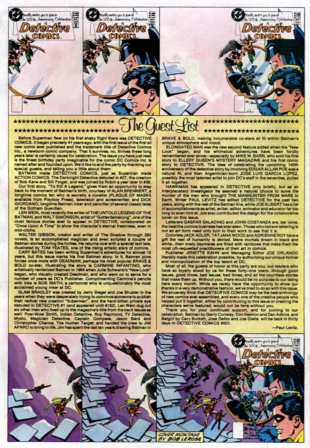 Detective Comics (1937) 500 Page 84