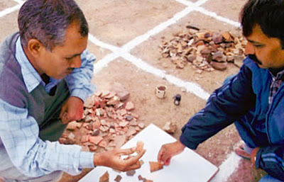 4,000-year-old stone tools, earthenware unearthed in Bhopal
