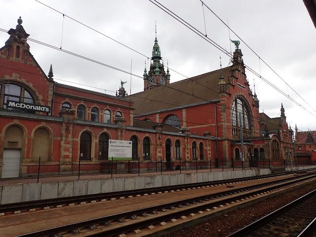 Gdańsk Główny (PKP) - dworzec z przełomu XIX i XX wieku
