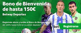 betway bono bienvenida 150 euros apuestas deportivas