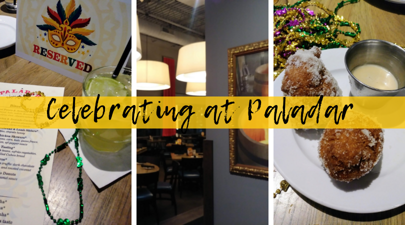 Celebrating Carnaval at Paladar Latin Kitchen + Enter to Win $100 Gift Card