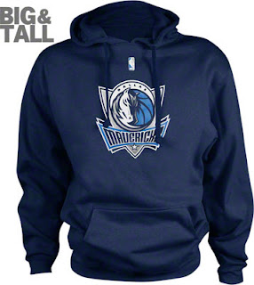 Big and Tall Dallas Mavericks Sweatshirt