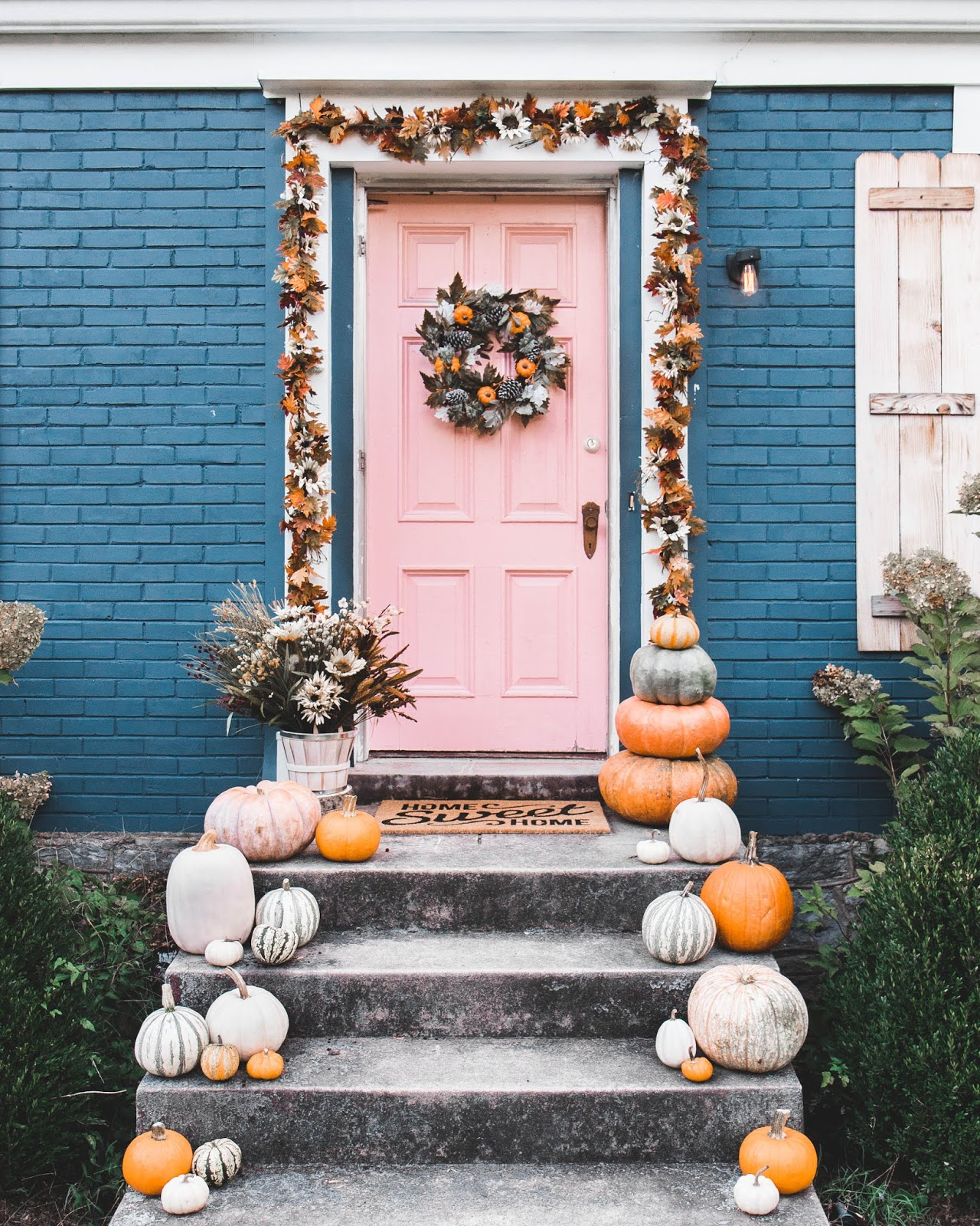 image relating to Old Time Pottery Printable Coupon named Do-it-yourself Drop Garland + Doorstep With Previous Year Pottery