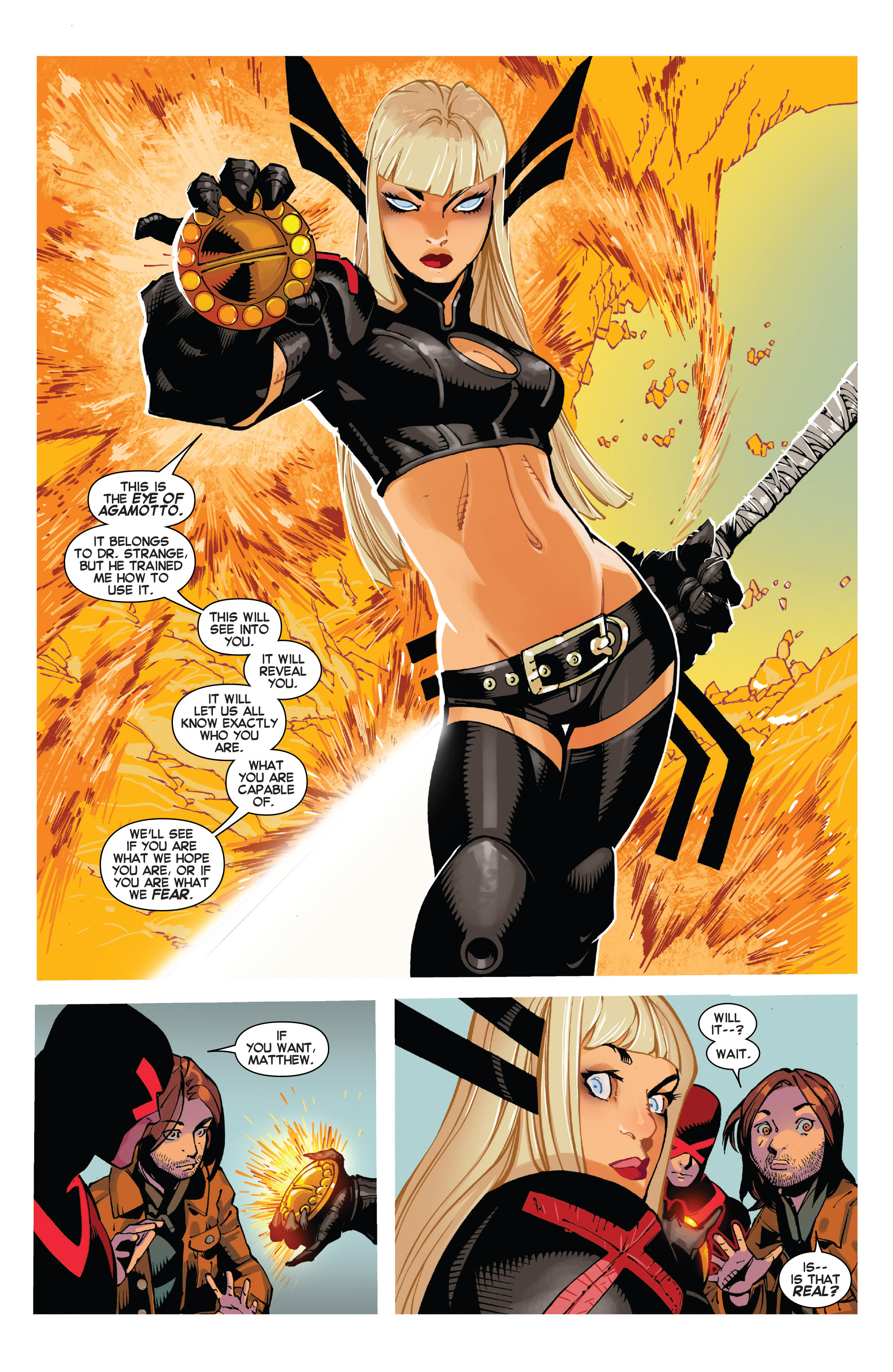 Read online Uncanny X-Men (2013) comic -  Issue # _TPB 5 - The Omega Mutant - 72
