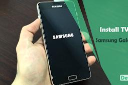 Cara Install TWRP Samsung A5 SM-A510FD Nougat