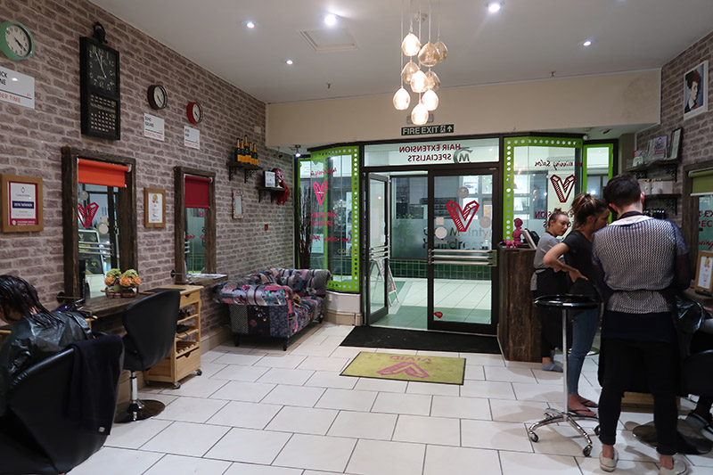 vivid hair salon extensions Northampton