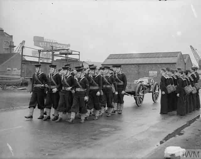 Royal Navy funeral at Rosyth, 12 November 1941 worldwartwo.filminspector.com