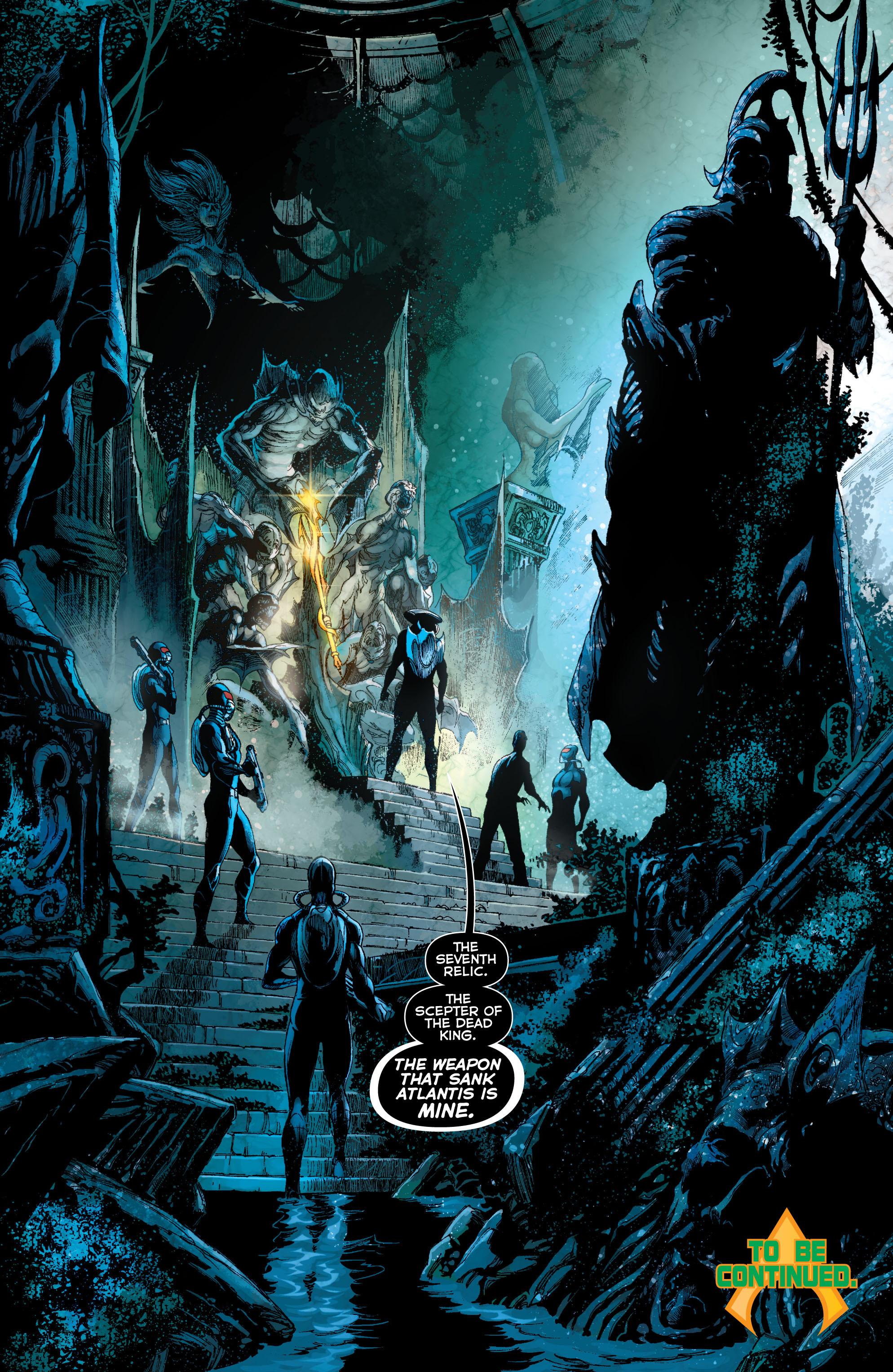 Read online Aquaman (2011) comic -  Issue #11 - 20