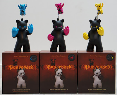 CMY Series 10th Anniversary Possessed Vinyl Figures by Luke Chueh x Munky King