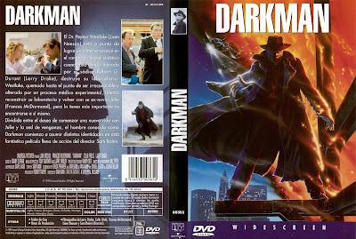 Cover, dvd, caratula: Darkman | 1990