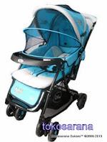Kereta Bayi Pliko PK508 Disney dengan Ayunan