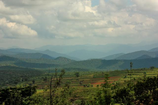 Germalam village, Kollegal - Hasanur Ghat road near BRT tiger reserve in Karnataka.