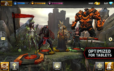 Heroes of Dragon Age for Android phones and tablets