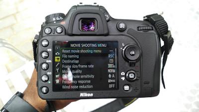 Fitur-Fitur Kamera DSLR NIKON D7200 Terbaru