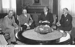 Firma de los Acuerdos de Munich