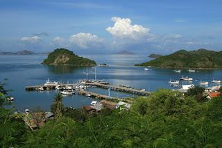 Dock Komodo Island Indonesia
