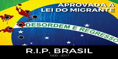 Senado Aprova Lei de Imigração que Rebaixa Cidadania e Soberania Brasileiras