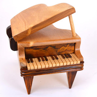 Piano Puzzle Box from Dogwood Hill Gifts