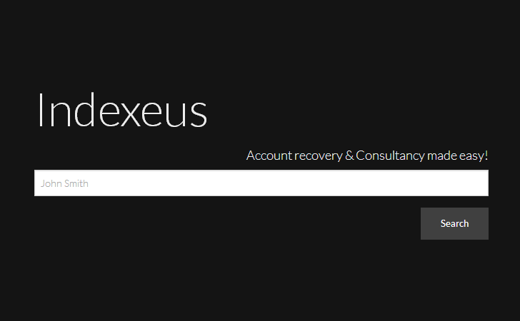 Indexeus — Search Engine Exposes Malicious Hackers and Data Breaches