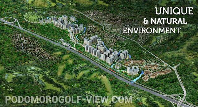 Podomoro Golf View Cimanggis Depok Apartment