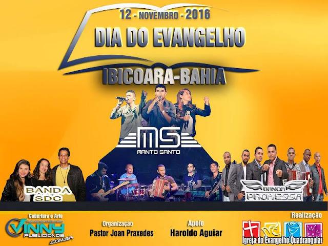 Dia do Evangelho em Ibicoara - 2016