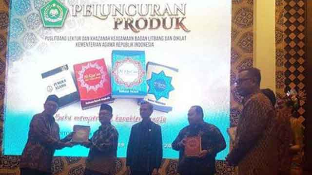 Alquran Terjemah Bahasa Aceh, Bugis, Madura Diluncurkan Kemenag