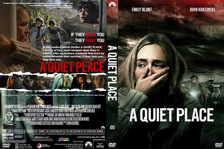 A Quiet Place (2018) 720p BrRip [Dual Audio] [Hindi 5.1+English]