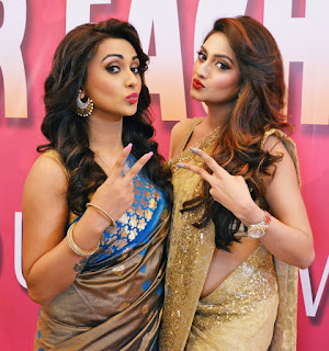 Mimi Chakraborty Indian Bengali Actress Hot And Sexy Photos With Nusrat Jahan