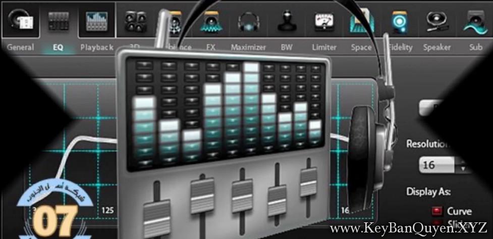 DFX Audio Enhancer 13.025 Full Key, Phần mềm giúp nâng cao chất lượng âm thanh của âm nhạc