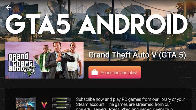 Saat ini Grand Theft Auto V sudah bisa dimainkan di HP Android, walaupun dengan RAM 1 GB