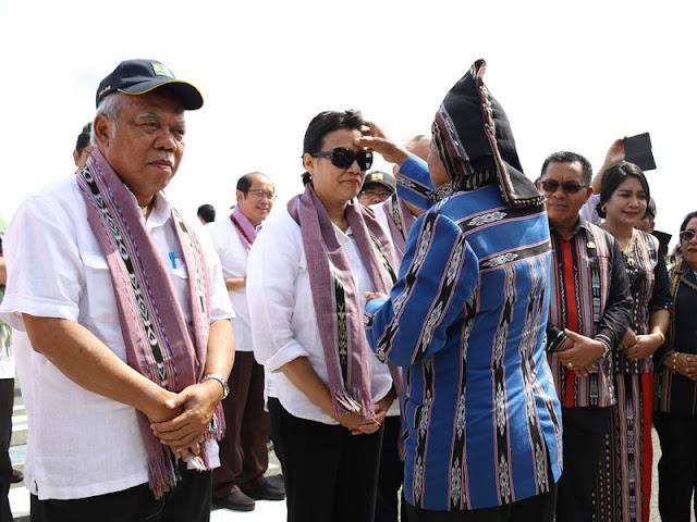 Basuki Hadimuljono Janju Perhatikan Jalan di Kepulauan Tanimbar