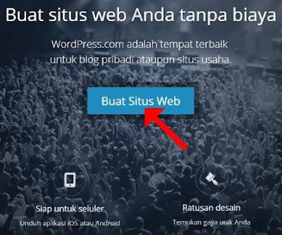 Cara membuat website gratis di wordpress dengan mudah dan cepat untuk pemula
