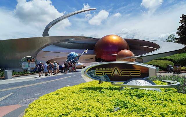 Atração Mission Space na Disney Orlando